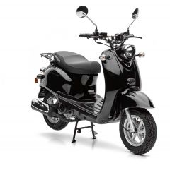 Nova Motors Retro Star 50 zwart - Model 2020