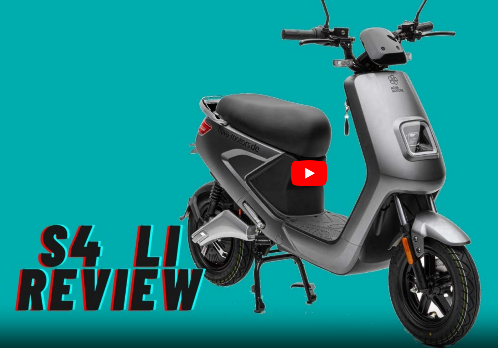 Erfahrungsbericht über den Elektroroller Nova Motors S4 li - Testbericht