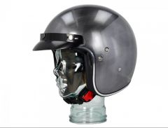 Helm Shiro SH-235 Mono Scratched Chrome Gr. XL
