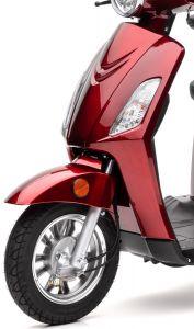 Frontverkleidung rot lackiert BENDI