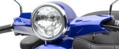Lenkerverkleidung blau lackiert BENDI
