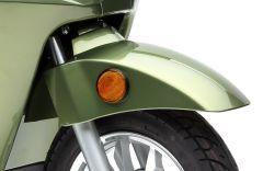 Schutzblech vorne grün lackiert BENDI