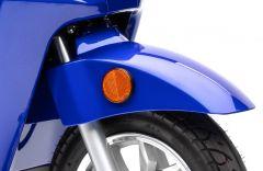 Schutzblech vorne blau lackiert BENDI