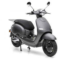 Nova Motors eEve li 50 elektro matt schwarz - Elektroroller mit Bosch Motor und herausnehmbarem Lithium-Ionen Akku