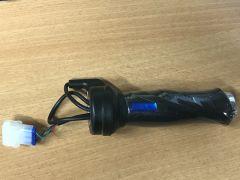 Gasdrehgriff eGrace und Bendi ohne Umschalter Blaue-Version