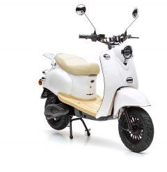Nova Motors eRetro Star 50 electric diamond white - elektrische scooter