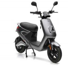 Nova Motors S4 Li 50 electro matgrijs - elektrische scooter met BOSCH-Motor en uitneembaar Lithium-Ion dubbele accusysteem