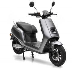 Nova Motors S5 Li 50 elektrisch matgrijs - elektrische scooter met BOSCH-Motor en uitneembare Lithium-Ion dubbele Accusysteem