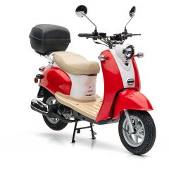 Nova Motors Retro Star 50 Touring rood-wit - Model 2020